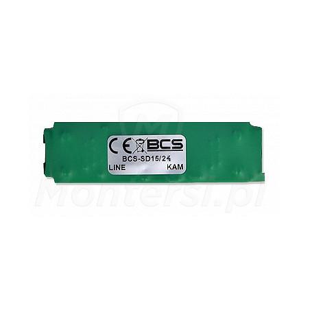 BCS-SD15/24 - Moduł przetwornicy 24V zasilanej z linii PoE