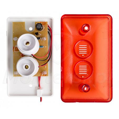 Wnętrze sygnalizatora ES-HC102R