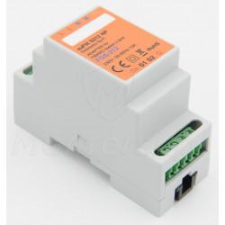euFIX S212NP - Adapter bez przycisków na szynę DIN 35 mm dla FGS-212