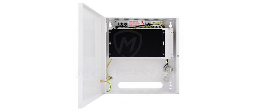 Wnętrze switcha PoE S108-C
