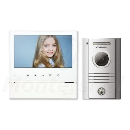 CDV-70H WHITE + DRC-40K - Zestaw 1-abonentowego wideodomofonu