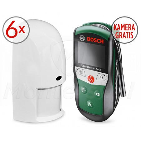 OD850-1FE-PROM - Zestaw 6 dualnych czujek ruchu i kamery inspekcyjnej