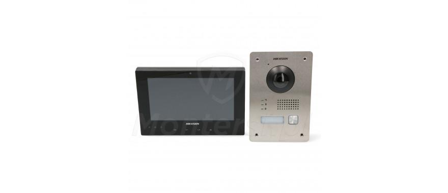 DS-KIS701-B-D - Zestaw wideodomofonu z monitorem
