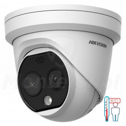 Kamera do pomiaru temperatury DS-2TD1217B-6/PA