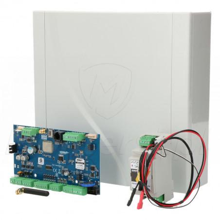 OptimaGSM-SET - Zestaw centrali alarmowej z zasilaczem i obudową