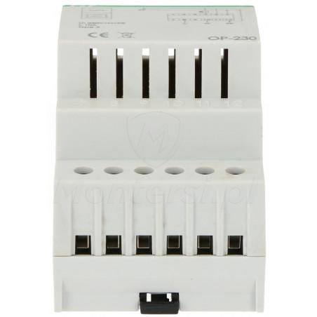 OP-230 - Filtr przeciwzakłóceniowy z układem przeciwprzepięciowym
