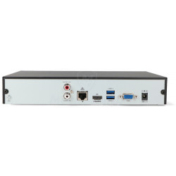 Tył rejestratora IP BCS-P-NVR1601-4K-II
