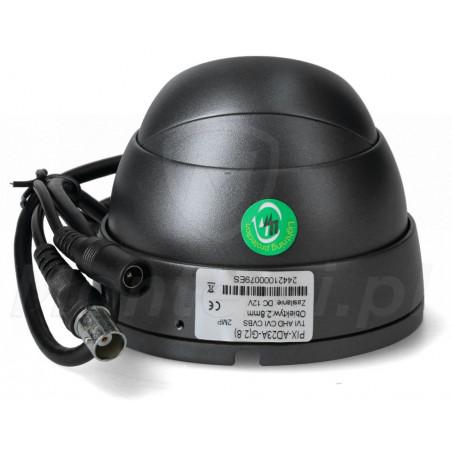 PIX-Q2SFDMIRS-II - Tył kamery i wtyczki