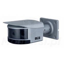 BCS-L-PIP-4x2MSIR3-F-A-Ai3 - Panoramiczna kamera IP, 2Mpx - widok ogólny