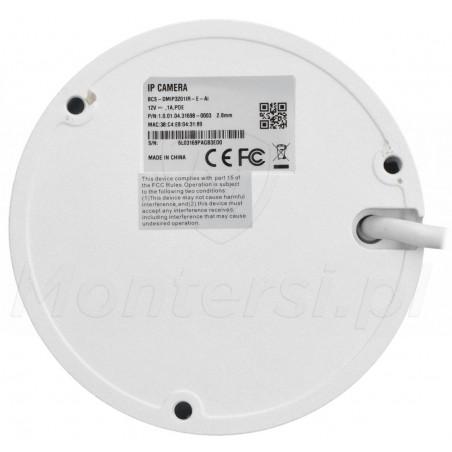 Spód kamery IP BCS-DMIP3201IR-E-Ai