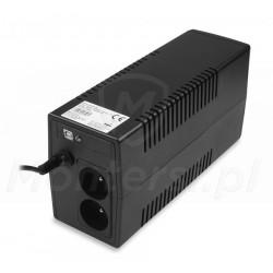 Gniazda zasilacza Micro UPS 600 7Ah