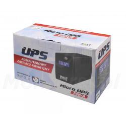 Opakowanie zasilacza Micro UPS 600 7Ah