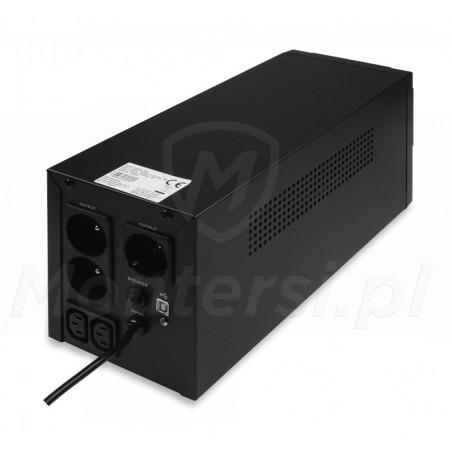 Gniazda zasilacza Micro UPS 1200 2x7Ah
