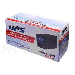 Opakowanie zasilacza Micro UPS 1200 2x7Ah