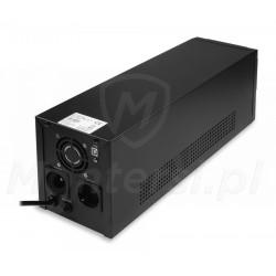 Gniazda zasilacza Micro UPS 3000 4x9Ah