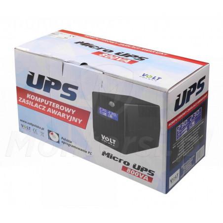 Opakowanie zasilacza Micro UPS 800 9Ah