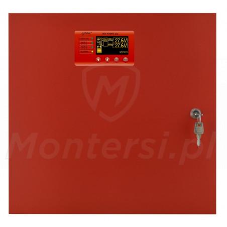 Front zasilacza buforowego EN54C-10A40LCD