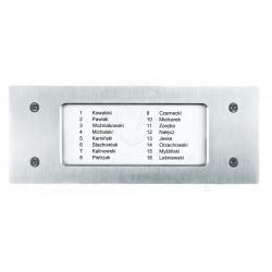 Lista lokatorów NP-2511