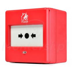 Ręczny ostrzegacz pożarowy ROP-101/PL