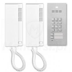 Zestaw domofonu cyfrowego FAM-P-2NPZS+INS-UP720B