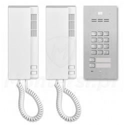 Zestaw domofonu cyfrowego FAM-P-2NPZS + INS-UP720M