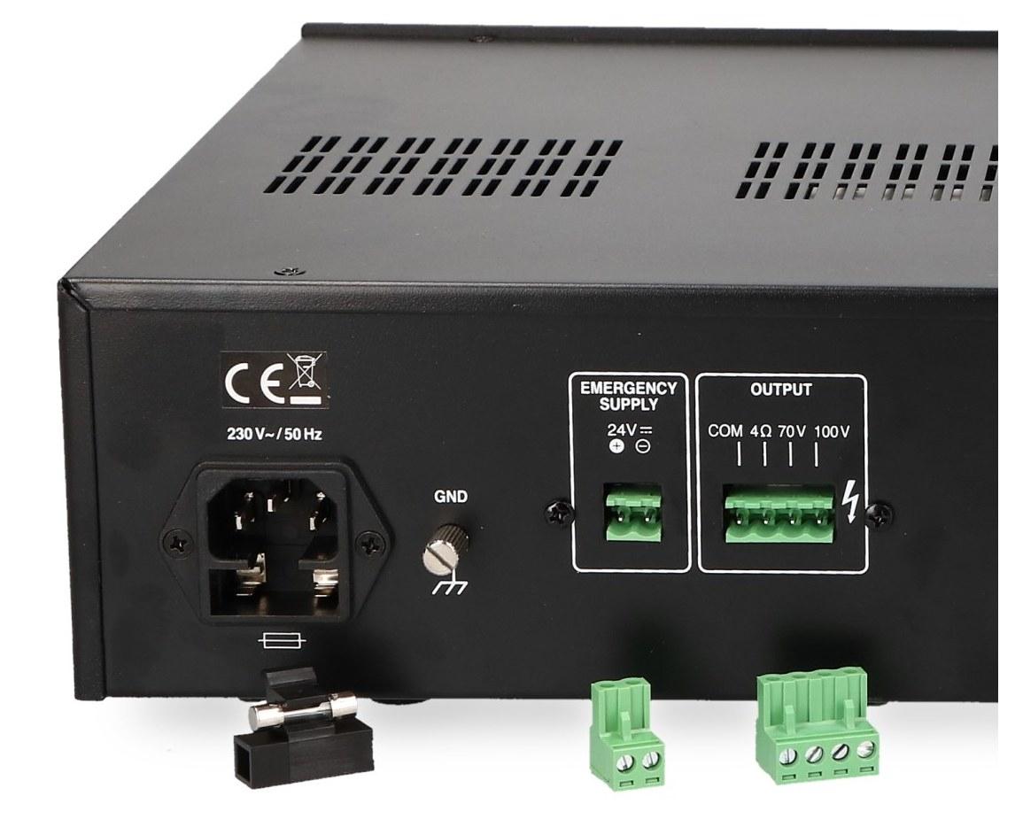 Wyjmowane złącza PA-900