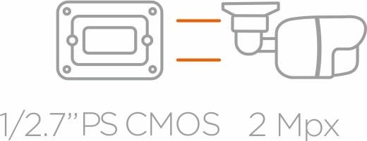 "Przetwornik 1/2.7"" PS CMOS"