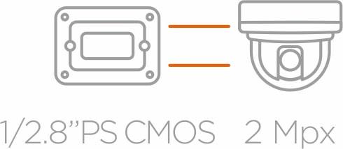 1/28 PS CMOS 2Mpx