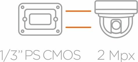 1/3 PS CMOS 2Mpx