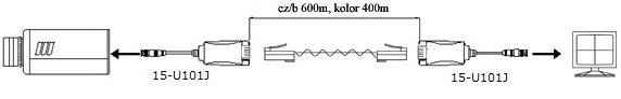 Przykładowe zastosowanie transformatora 15-U101J