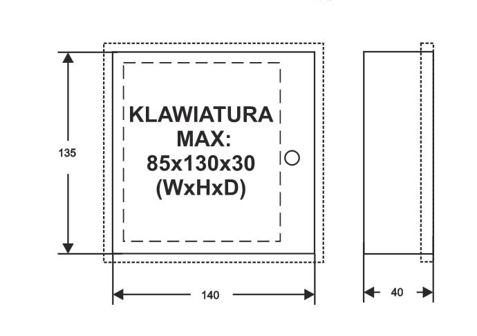 Obudowa montażowa AWO359