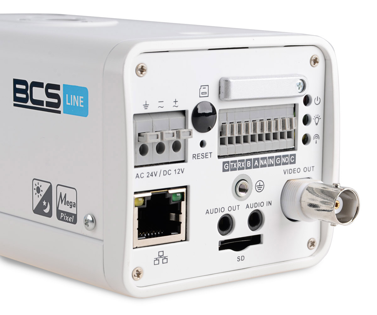 Tył kamery BCS-BIP7130A