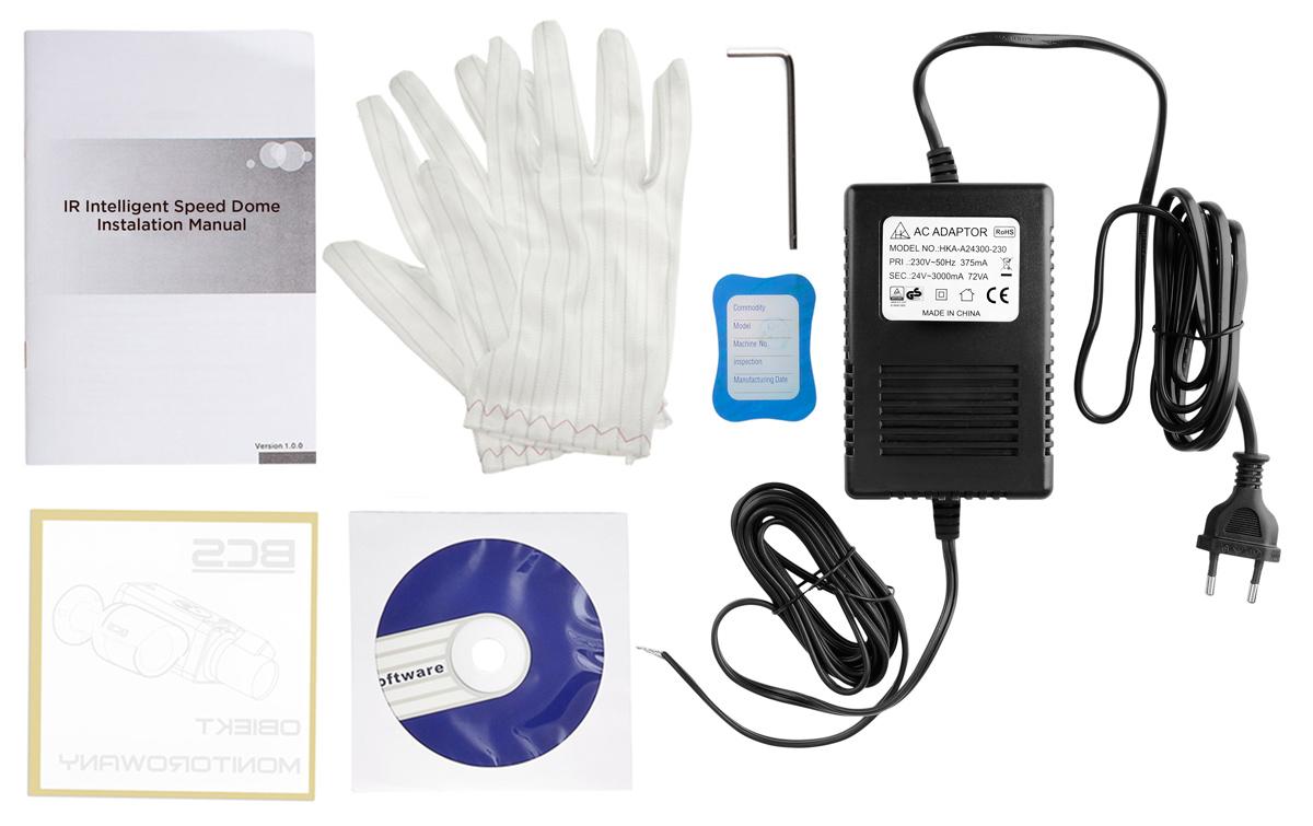 Akcesoria dostępne  w komplecie z kamerą BCS-SDHC4212