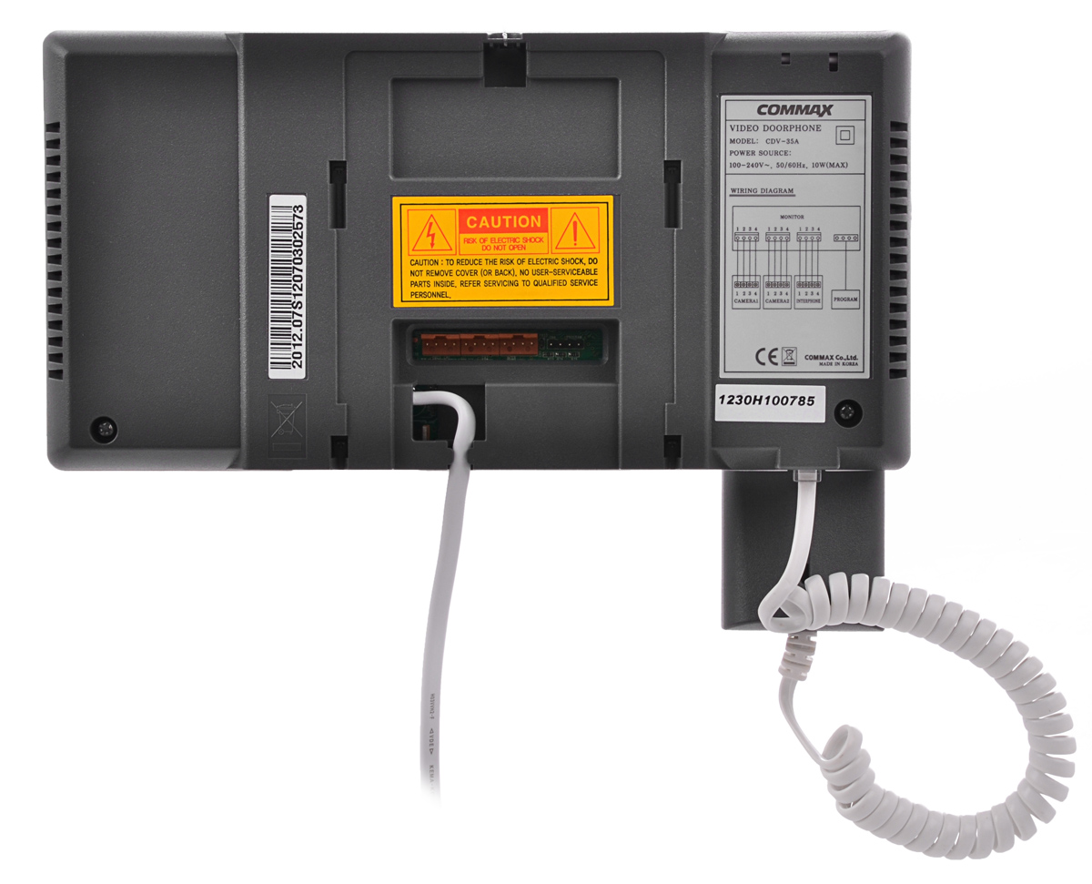 Tył monitora COMMAX CDV-35A