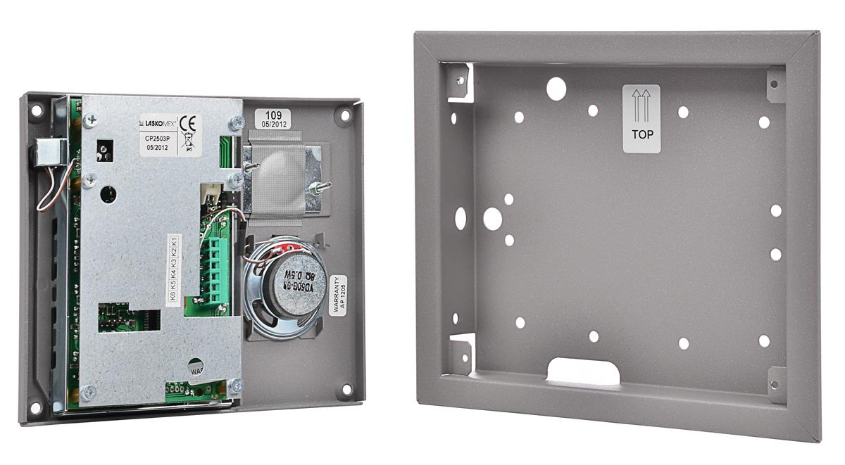 Wnętrze panelu bramowego CP-2503R