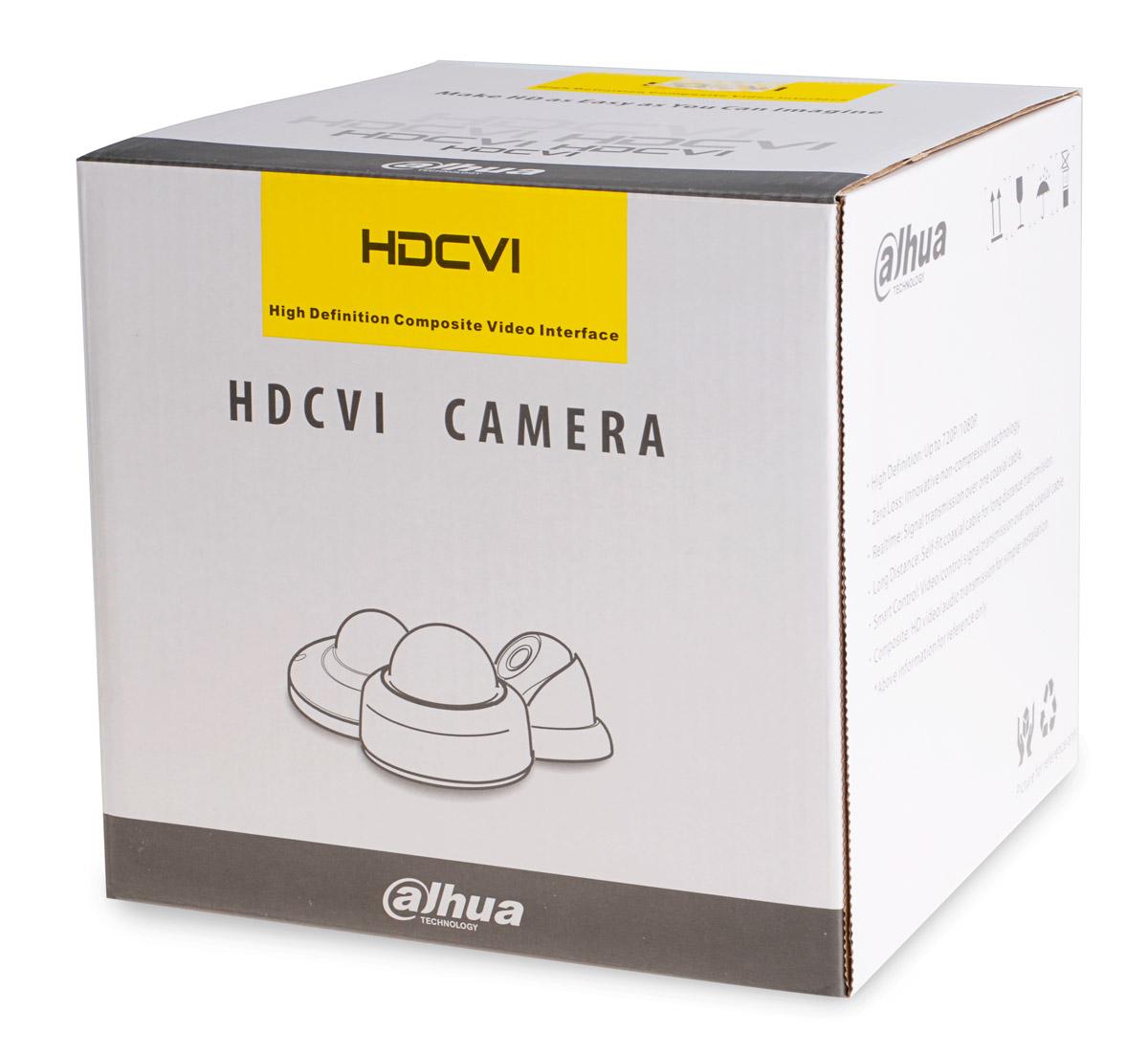 Opakowanie kamer z serii DH-HAC-HDW2220R-VF