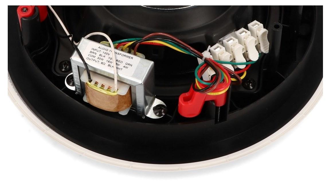 Transformator audio i złącza