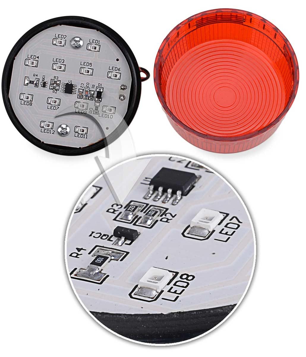 Mocne diody sygnalizatora stroboskopowego ES-HC01R