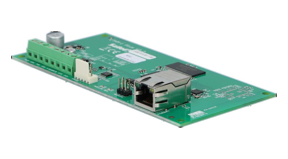 Złącze RJ45 do podłączenia sieci LAN do ETHM-1 Plus