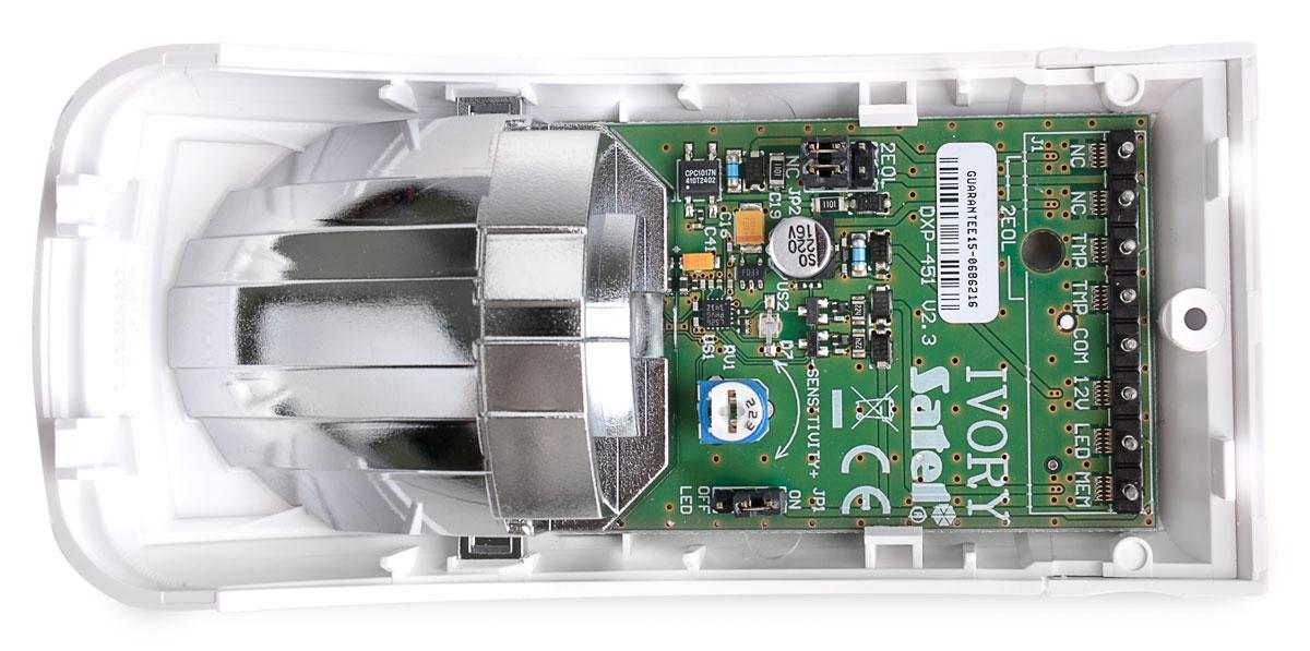 Technologia lustra segmentowego w czujniku IVORY