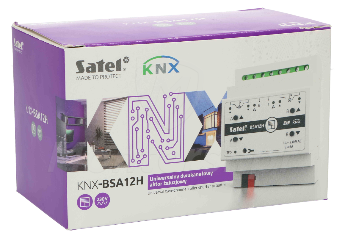 Moduł KNX-BSA12H w pudełku