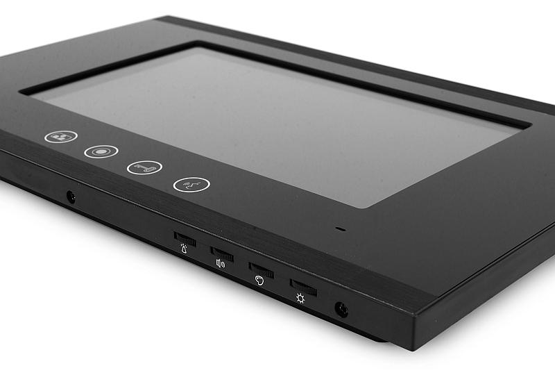 Pokrętła umożliwiające zmianę podstawowych parametrów monitora M880B