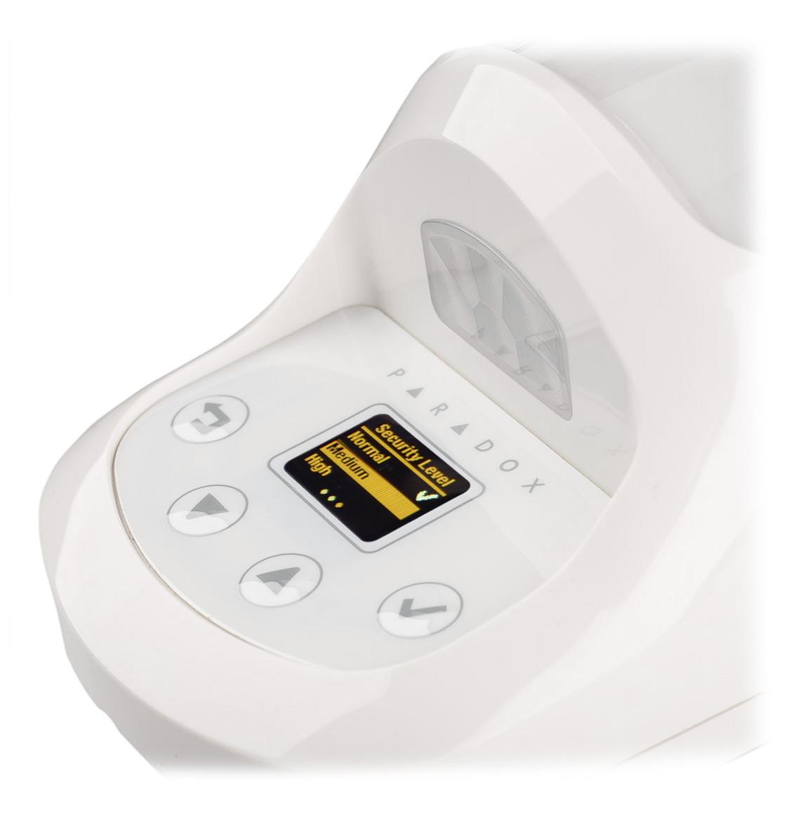 Wyświetlacz znacznie ułatwiający zmianę ustawień czujki NVX80-EQ04