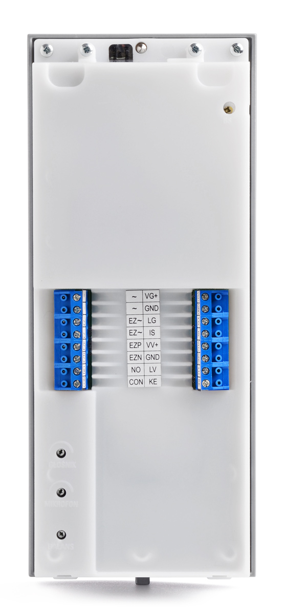 Zaciski panelu bramowego OP-255-P