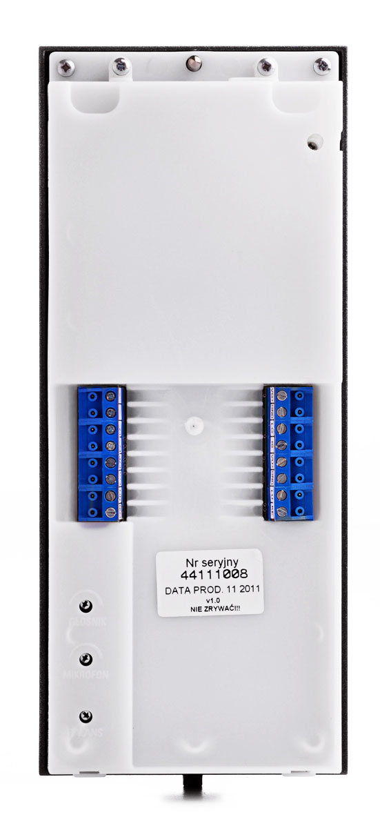 Zaciski panelu bramowego OP-255R-G