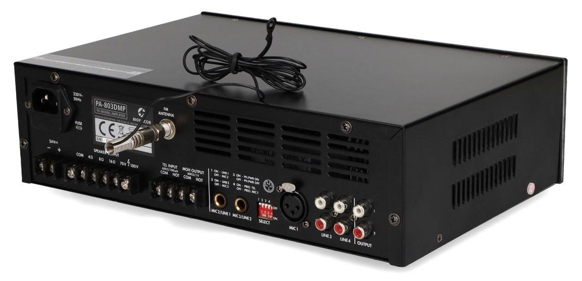 Wymienna antena wzmacniacza PA-803DMP