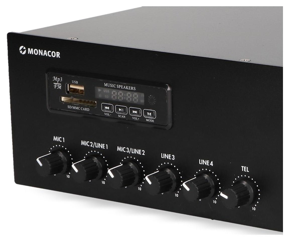 Panel radiowy wzmacniacza PA-803DMP