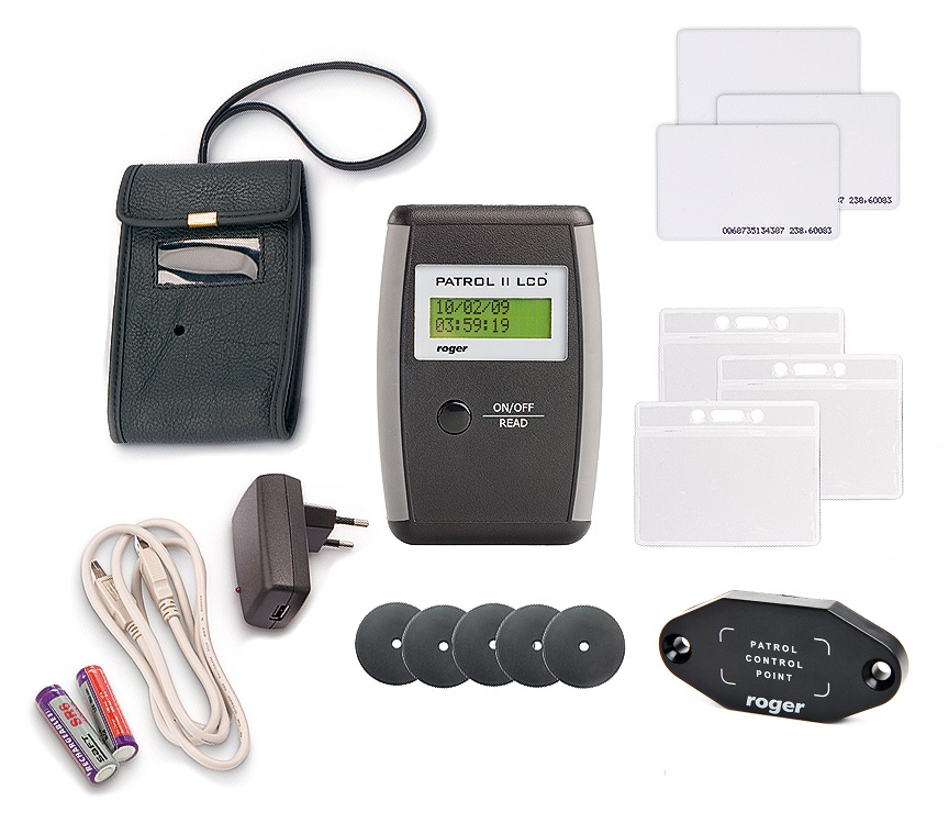 Urządzenia wchodzące w skład zestawu Patrol II LCD