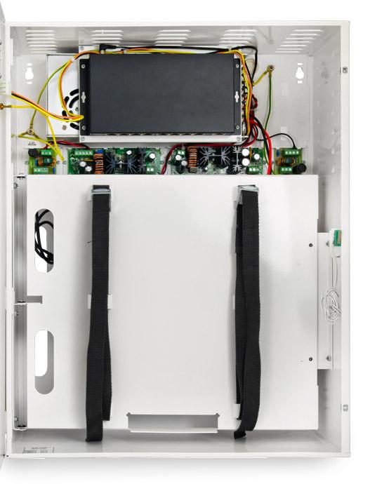 wnętrze switch-a PoE S98-CRB