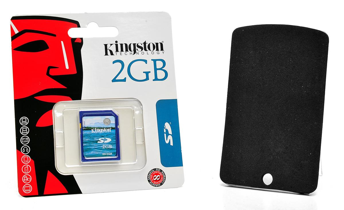 W skład zestawu SGN-5220M wchodzi karta SD 2 GB